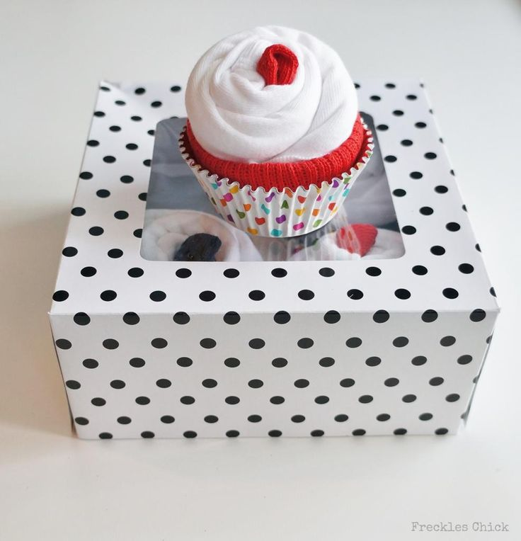 best  sock cupcakes ideas only on   baby cupcake gift, Baby shower invitation