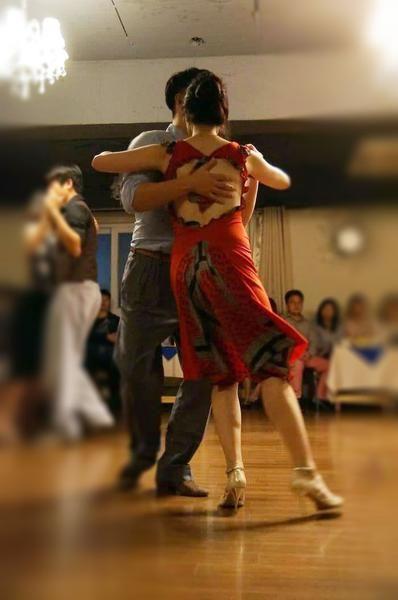 red fishtail tango dress #argentinetango #condiva #tangodress #milonga #tangodance #red