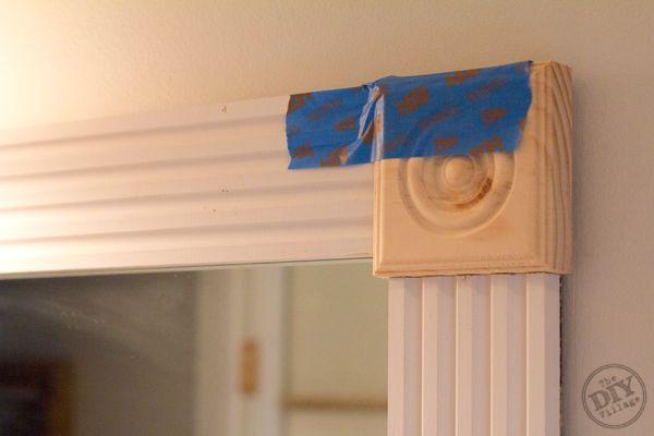 1000 ideas about mirror trim on pinterest easy home - Decorative trim for bathroom mirrors ...