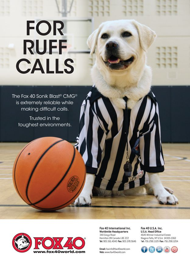 Referee Magazine Ad Published in the November 2014 Issue