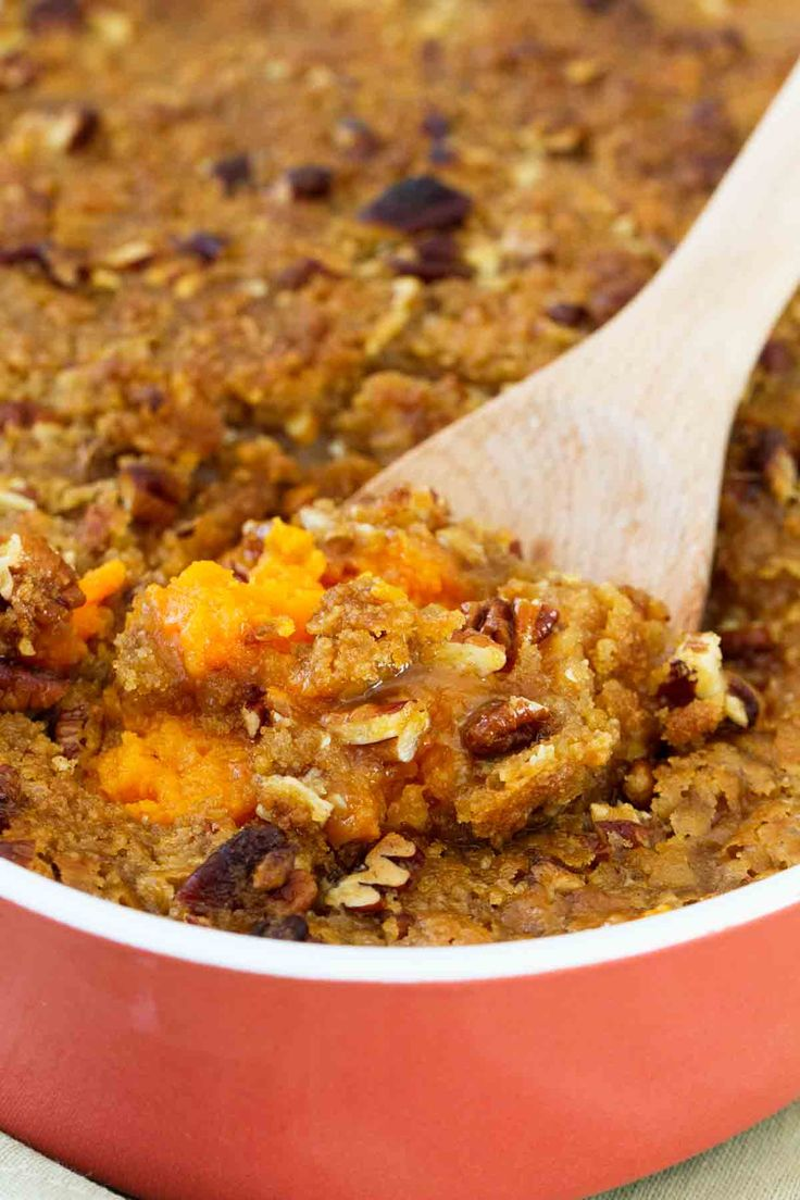 A sweet and decadent side dish, this really is the BEST Sweet Potato Casserole. These sweet potatoes are a must on my holiday table!