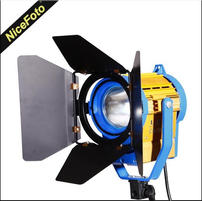 Светодиодный осветитель NiceFoto CD-1000WS с линзой френеля