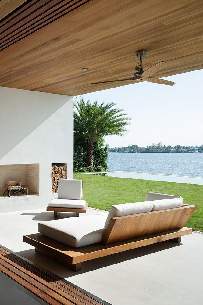 Vida ao ar livre, idéias decorativas para uso ao ar livre, decoração de verão, primavera …   – Möbel Ideen