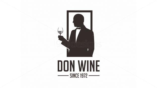 Don Wine Logo logo
