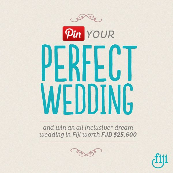 169 best my perfect wedding in fiji images on pinterest letters win your dream wedding in fiji worth 25600fjd click to find out junglespirit Images