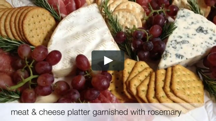 Simply entertaining by A Thoughtful Place. Putting together a beautiful appetizer can be easy and fast! Here is an easy to follow video on how to assemble a pretty meat