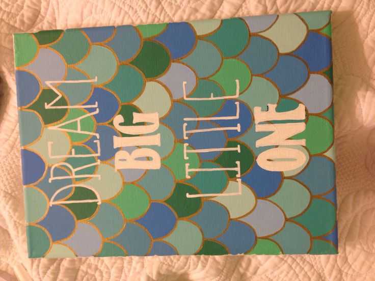 Sorority canvas I painted for my KD little