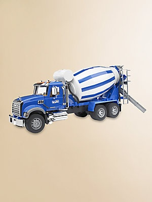 Bruder Toys Mack Granite Cement Mixer