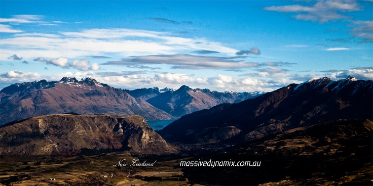 Taken from the top of The Remarkables