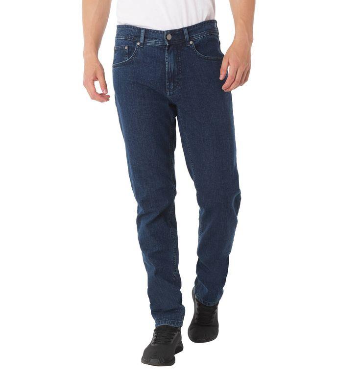 Jeans, Stretch-Anteil, gerader Schnitt