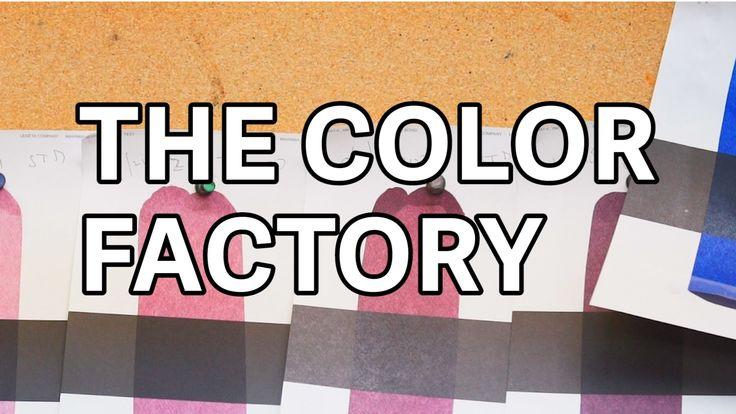 Inside the Pantone color factory