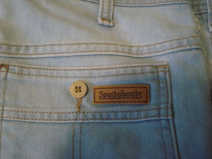 00c85355 Vintage 60'S 70'S Sport-about Jeans Pants Talon 42 Zipper 34 x 30 (32 x 29)  #Sportabout #ClassicStraightLeg | Vintage | Jeans pants, Jeans, Pants