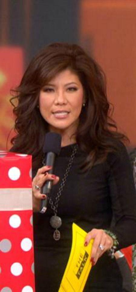 Love Julie Chen's hair color!