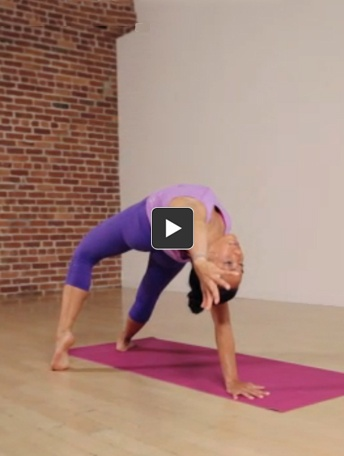 Unwind your spine to clear your body and mind with a springtime sequence of twists and chest openers created by Kathryn Budig.