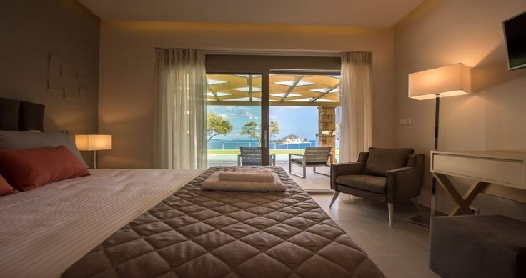 "Check Villa ""Artina"" - Zakynthos, Greece ! You can rent it ! #luxury #villa #rent #holidays #greece #vacances #grece #alouer #aroomwithaview #sea #bedroom #decoration #swimmingpool #beautiful #sunset #luxuryvilla"