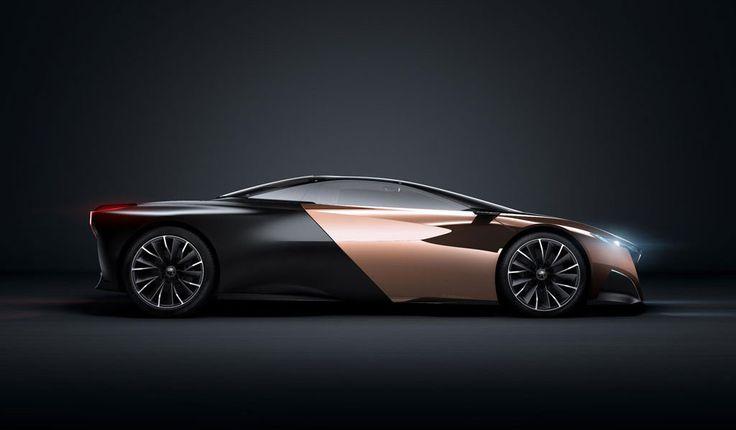 Merveilleux Peugeot Onyx Concept Car