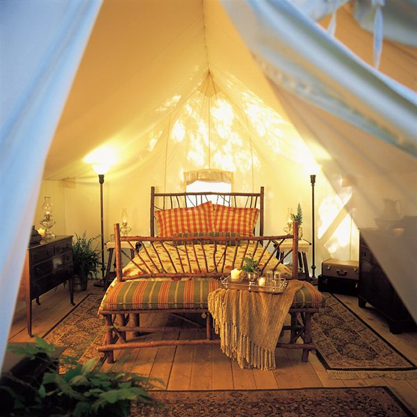 Little lights and gl&ing c&ing. : glamorous tents - memphite.com