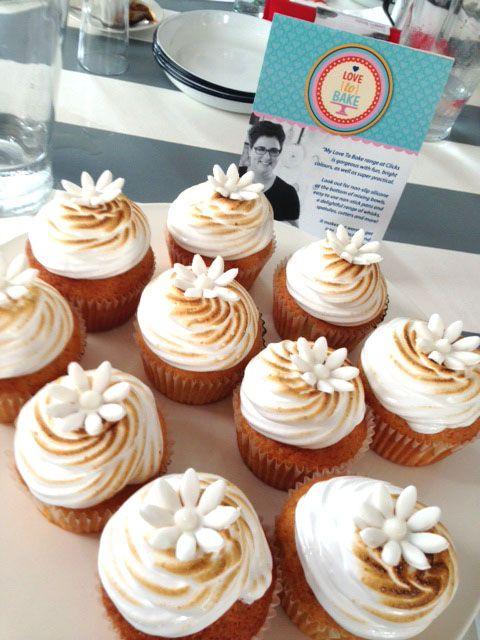 Lemon meringue cupcakes from my Love to bake Class
