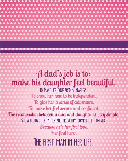 father's day letter from daughter tumblr
