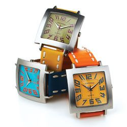 """The big numbers make these watches easy to read; the fabulous colors make them fun to wear."" — Oprah"
