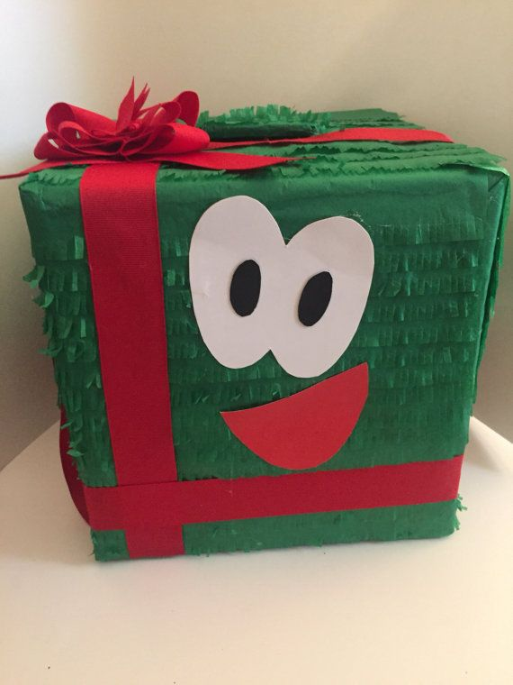 Piñata caja de regalo