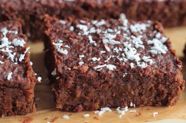 Veselé Borůvky: Dýňová buchta s čokoládou a kokosem