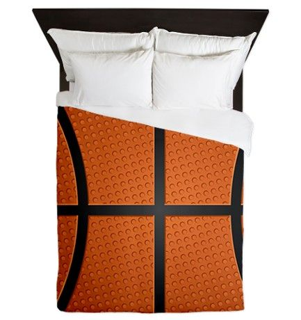 Basketball Pattern Queen Duvet