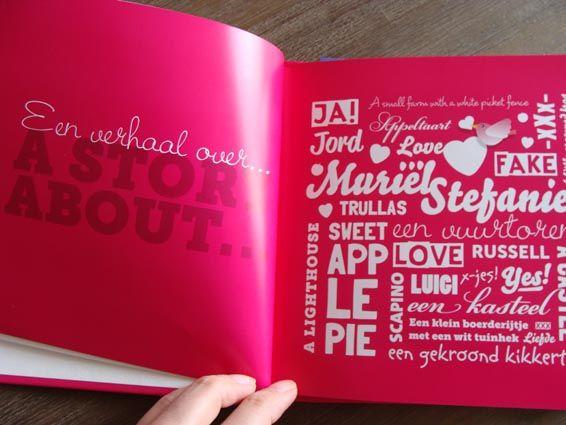 » Ideeën die je gezien moet hebben voordat je gaat trouwen: geen trouwkaart, maar een trouwboekje » Arnhems Meisje