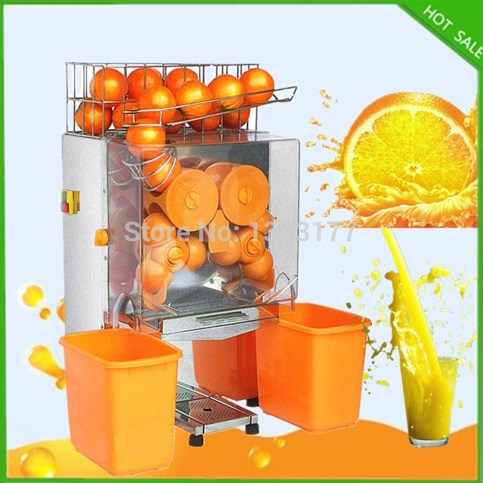 JKL free ship electric automatic home orange juicer 110 /220V 50Hz orange juice machine CE electric automatic orange extractor