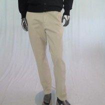 Pantalone uomo made in Italy con tasche laterali e posteriori con bottoncino