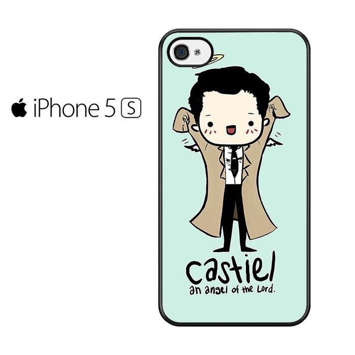 Castiel Angel Supernatural Iphone 5 Iphone 5S Iphone SE Case