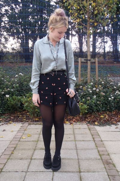 Cute outfit, and a plus, the creepers