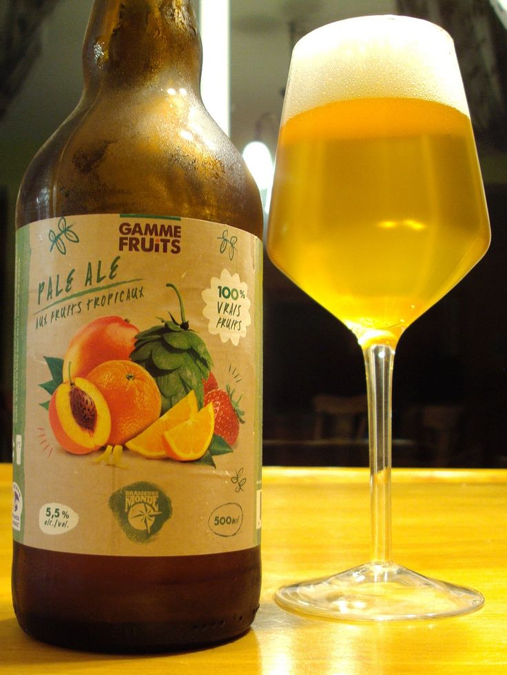 Pale Ale Aux Fruits - Brasseurs Du Monde via craftbeerquebec.ca #fruitbeer #craftbeer #microbrasserie