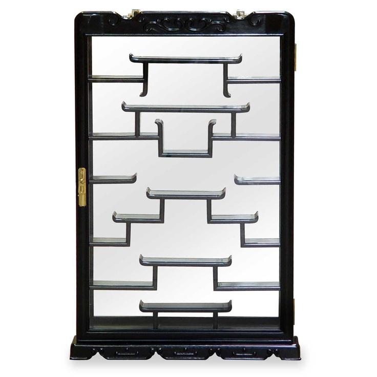 Wall Curio Display Cabinet Bar Cabinet