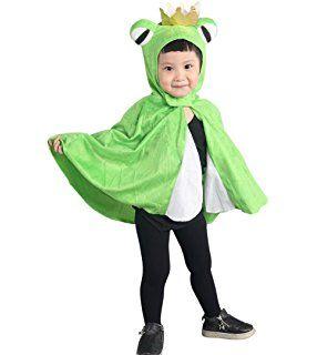 Froschkonig Kostum An80 Als Umhang Fur Klein Kinder Babies