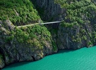 How about Bungee jumping into a fjord?