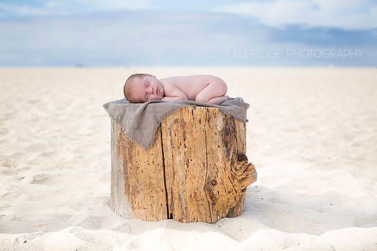 Newborn Beach Photography