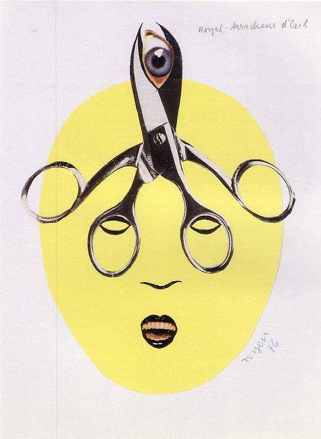 Toyen (Marie Čermínová, 1902-1980) by calypsospots, via Flickr