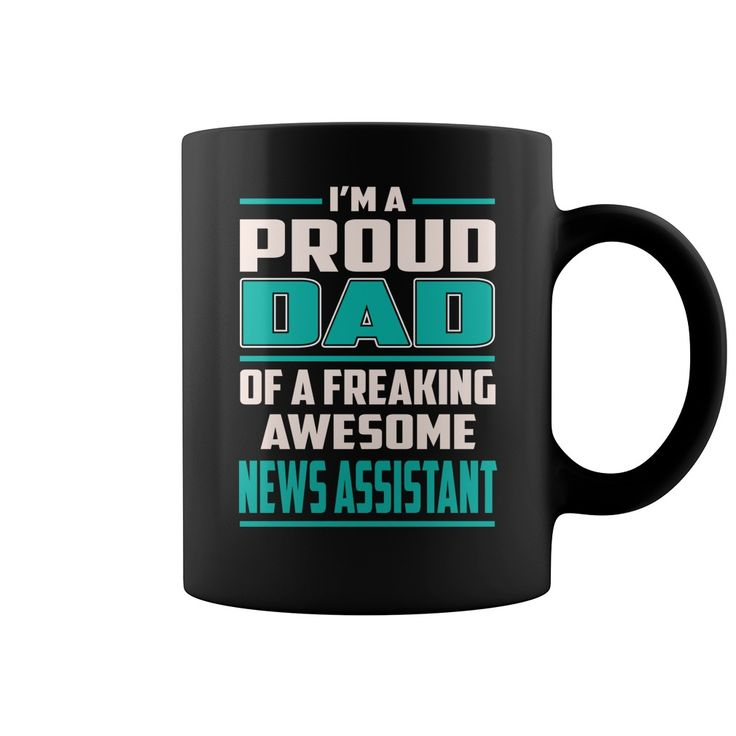 Proud DAD News Assistant Job Title Mug #gift #ideas #Popular #Everything #Videos #Shop #Animals #pets #Architecture #Art #Cars #motorcycles #Celebrities #DIY #crafts #Design #Education #Entertainment #Food #drink #Gardening #Geek #Hair #beauty #Health #fitness #History #Holidays #events #Home decor #Humor #Illustrations #posters #Kids #parenting #Men #Outdoors #Photography #Products #Quotes #Science #nature #Sports #Tattoos #Technology #Travel #Weddings #Women