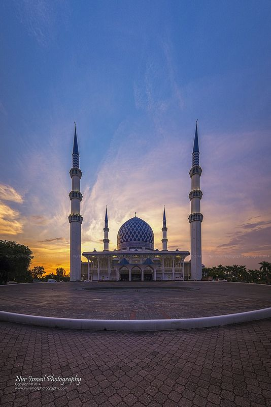 """""""Sunset at Masjid Shah Alam"""" by Nur Ismail Photography on Flickr"""