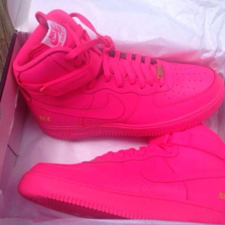 Custom pink Air Force 1 GS