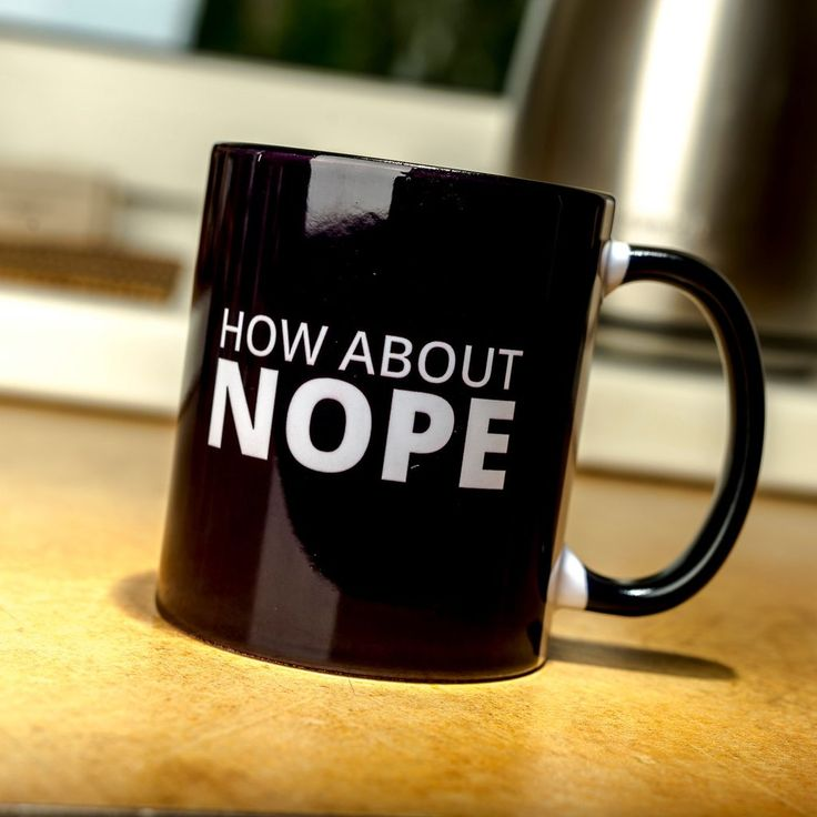 How about NOPE funny mug Grumpy Cat No quote word 9gag funny cup black gift