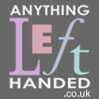 Specially designed left-handed versions of common items and free newsletters on being left-handed