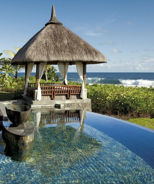 Nestling between sugarcane fields and the turquoise waters of the Indian Ocean, Shanti Maurice – a Mauritius resort – satisfies all the senses. With exotic gardens, pristine white sands, a sublime spa, spacious accommodation and restaurants brimming with fresh ideas, you'll find a place, and people, devoted to pleasure.