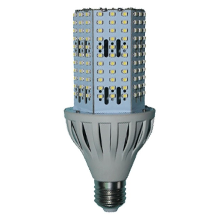 This 20 Watt, 3100 lumen commercial LED bulb is the perfect replacement for expensive, energy inefficient metal halide, incandescent and compact fluorescent bulbs. This 6000 Kelvin bulb has a 360 degree beam angle which is ideal for lighting commercial and industrial spaces such as warehouses, storage rooms, factories, supermarkets and shopping malls. $39.90