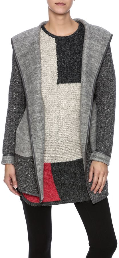 CAPOTE Hooded Sweater Jacket