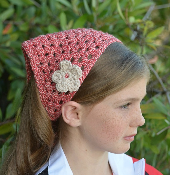 21 Best Crochet Head Scarf Images On Pinterest Crochet Hats