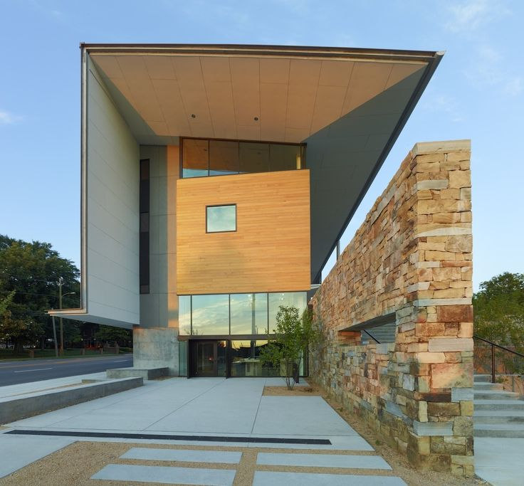AIANC Center for Architecture and Design in Raleigh, North Carolina USA by Frank Harmon Architect PA