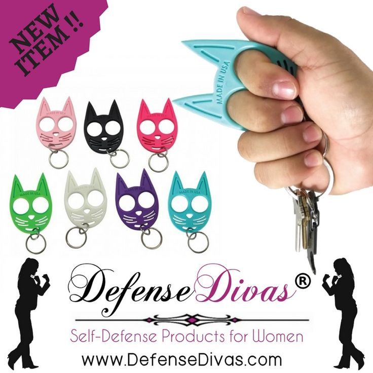 The Kitty self-defense keychain is ready to protect because it's right on your key ring.  Just $9.95 at https://www.divasfordefense.com/collections/impact-self-defense/products/ninja-kitty-self-defense-keychain-ring-impact-self-defense?utm_content=buffer0d248&utm_medium=social&utm_source=pinterest.com&utm_campaign=buffer #selfdefense