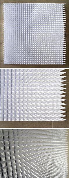 Nine hundred - Paper art by Jen Fullerton